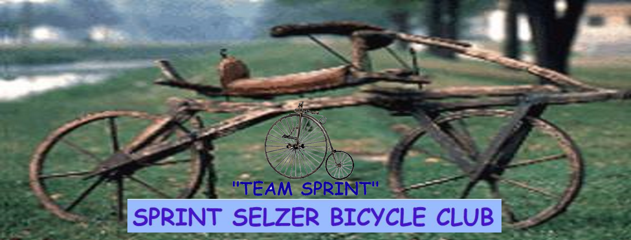 TEAM SPRINT! Old Bikes